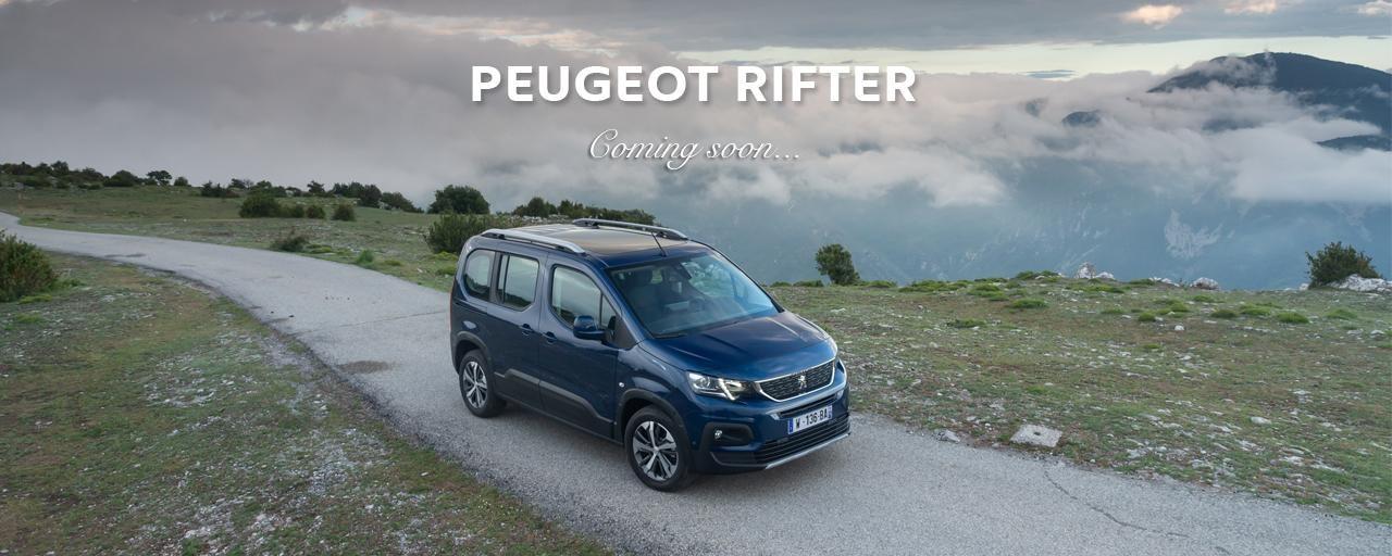 PEUGEOT Rifter coming soon